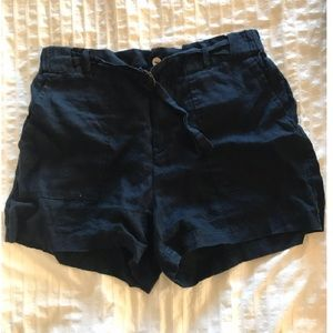 Jones New York linen shorts